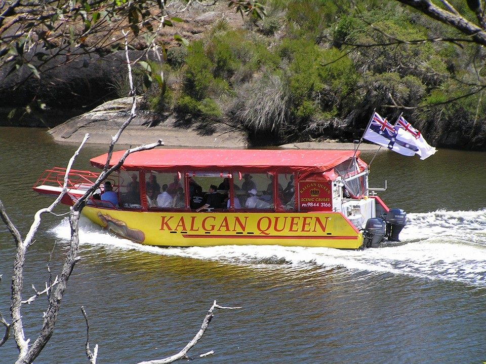 Kalgan Queen cuise and tour boat