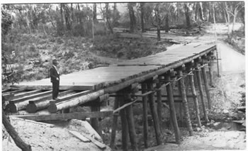 upper bridge construction