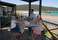 Rose Gardens Beachside Caravan & Holiday Park ALBANY WA AUSTRALIA ACCOMMODATION